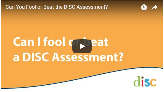 Can You Fool Or Beat The Disc Assessment Disc Personality Testing Blog Disc is the leading psychometric assessment tool used by more than 45 million people to improve work productivity, teamwork and communication. disc personality testing blog