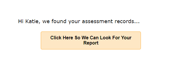 Screenshot detailing the button that needs to be clicked to retrieve a report.